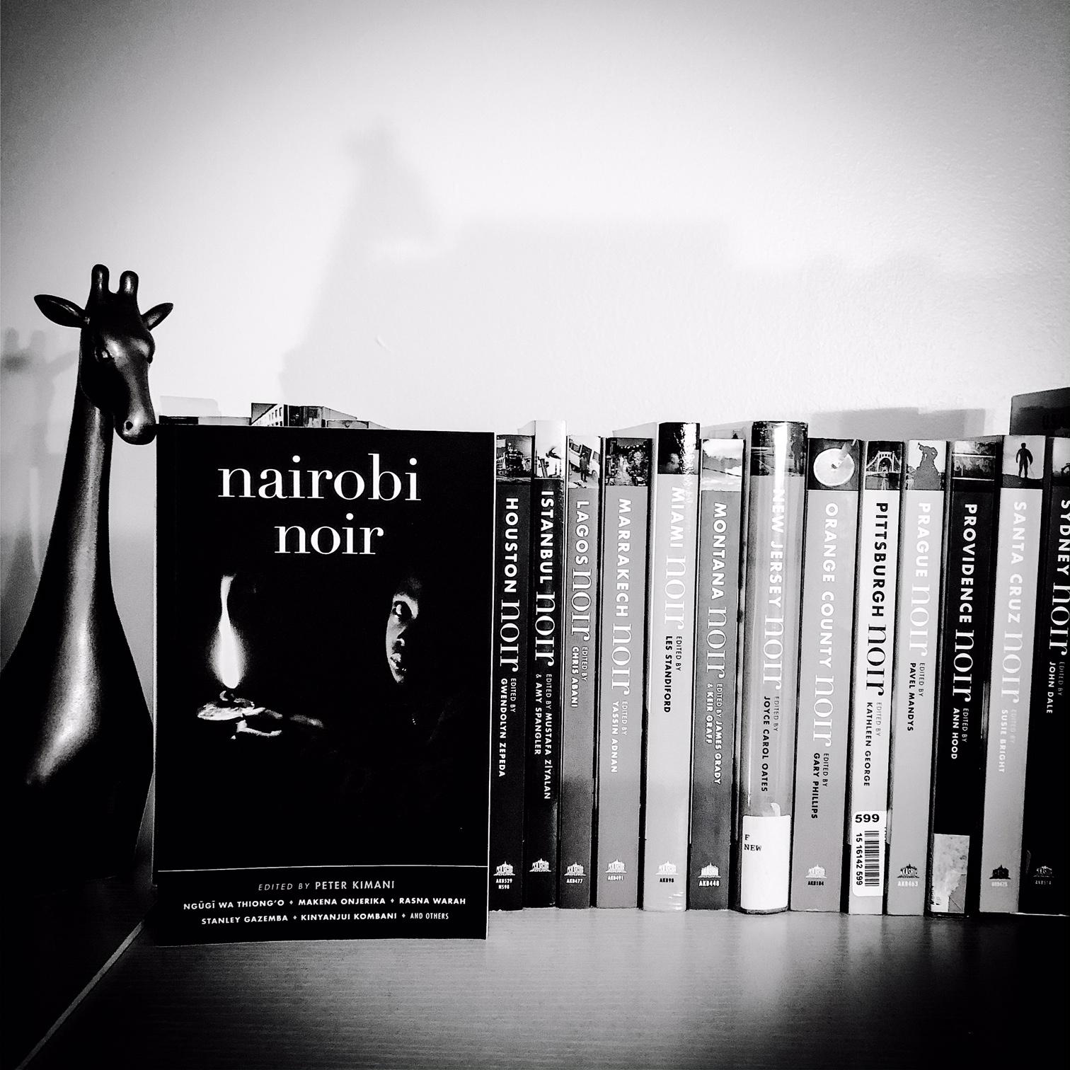 Nairobi Noir-silvered